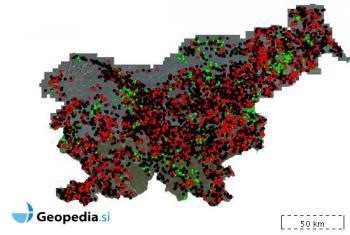 Če vas zanima stanje akcije v vaši občini, kliknite na zemljevid