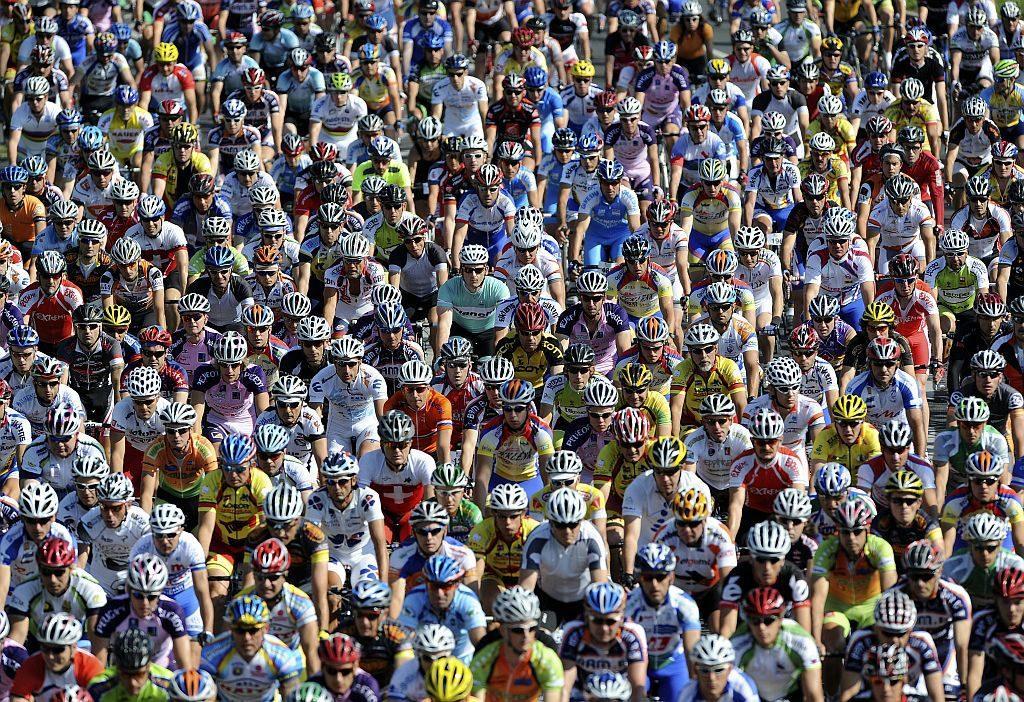 Slovenija, Ljubljana, 14.06.2009, 14. Junij 2009 2131 kolesarjev je startalo izpred BTC-ja na velikem maratonu Franja. Sport, maraton, rekreacija. Foto: Srdjan zivulovic/Bobo