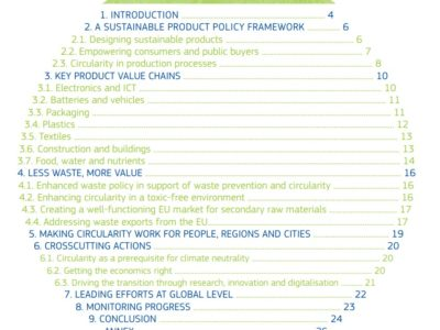 Evropski Akcijski načrt za krožno gospodarstvo