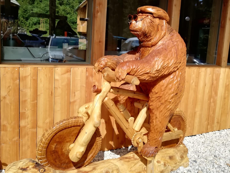 kolesarska vas v ribnem